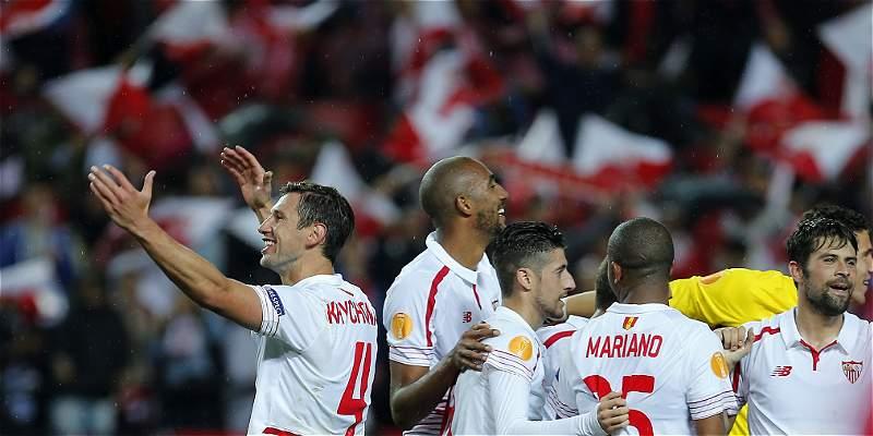 Sevilla jugará su quinta final de Europa League: venció 3-1 a Shakhtar
