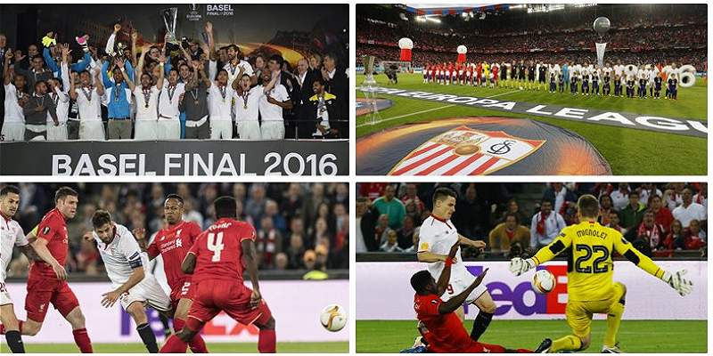 Collage Sevilla vs Liverpool