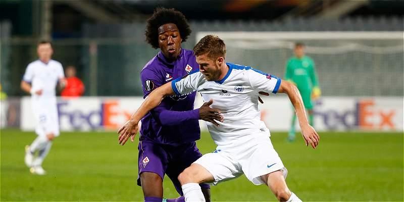 Sánchez: 90 minutos en la victoria 3-0 de Fiorentina contra Liberec
