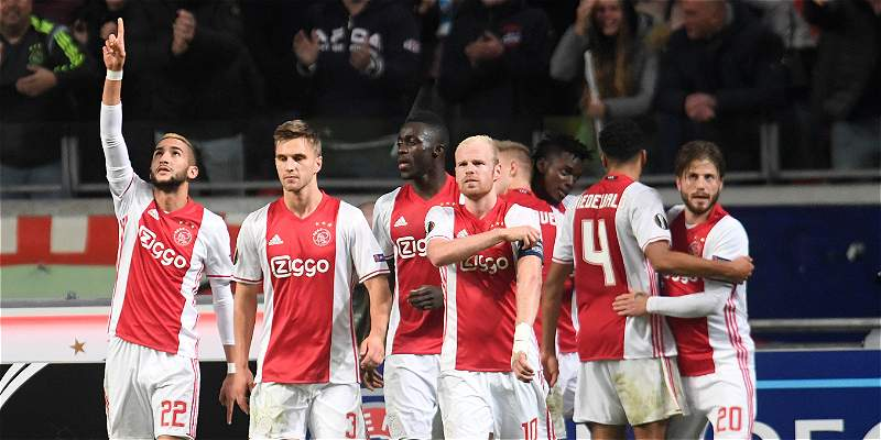 Con Sánchez y Casierra, Ajax venció 3-2 al Celta de Vigo