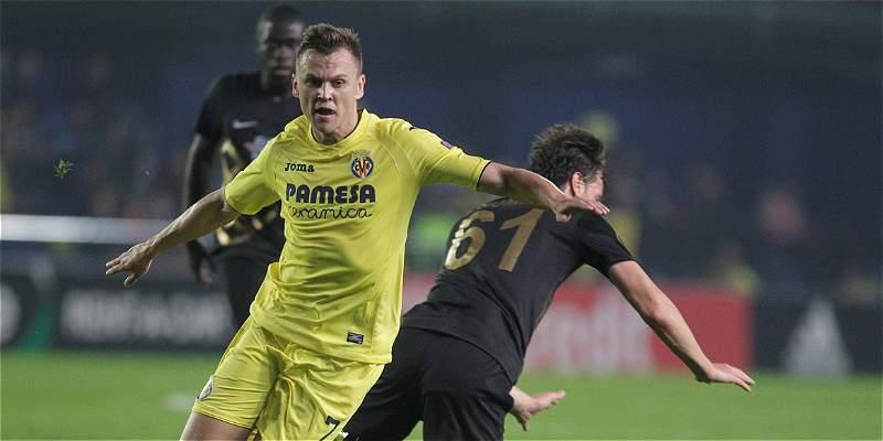 Borré, 63 minutos en derrota 1-2 de Villarreal con Osmanlispor