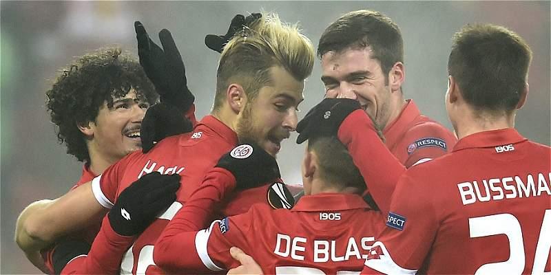Mainz, de Córdoba, venció 2-0 a Gabala, pero no sigue en Europa League