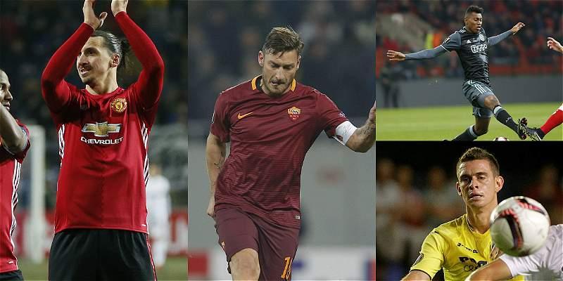 5 colombianos entre los 32 equipos clasificados en la Europa League