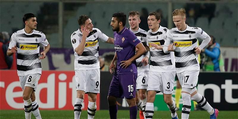 Borussia Monchengladbach eliminó a Fiorentina: goleó 2-4 de visitante