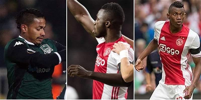 Jugadores colombianos ya tienen rivales en octavos de Europa League