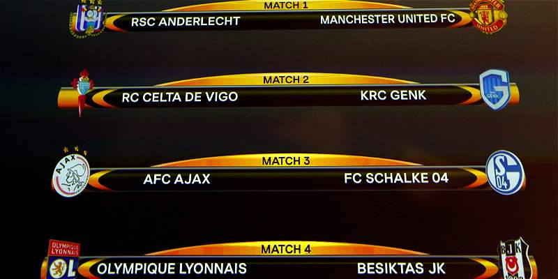 Cuartos de final de la Europa League.