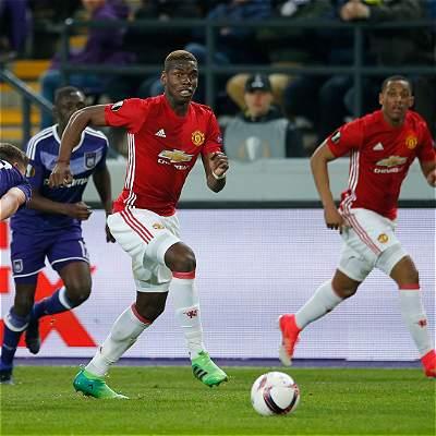 United dio un paso importante en Europa League: 1-1 contra Anderlecht
