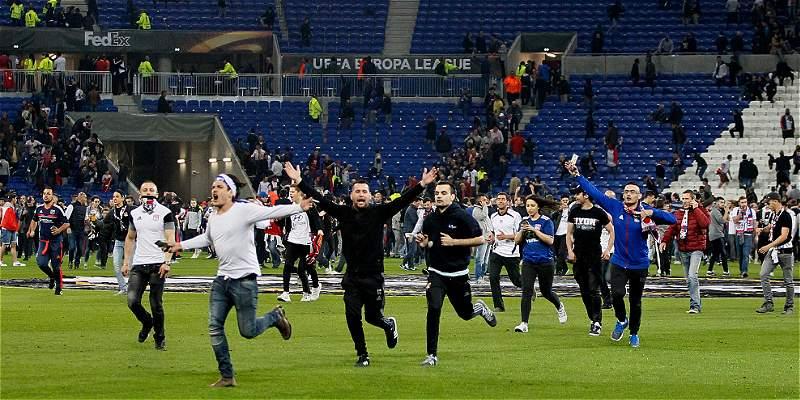 Sanción de la Uefa por disturbios