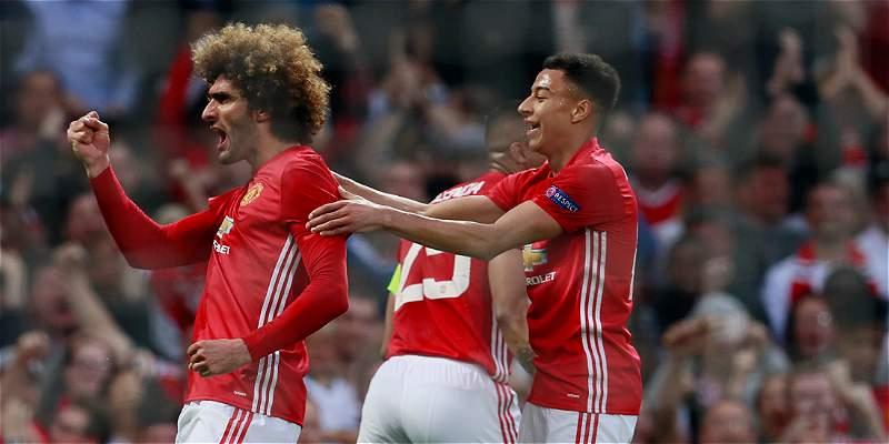 Manchester United, a la final de Europa League, un título que no tiene