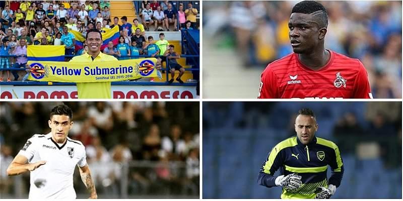 Europa League rivales de los clubes de los colombianos