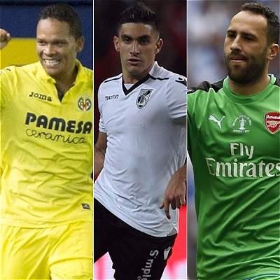 Seis futbolistas colombianos disputarán la Europa League 2017-2018