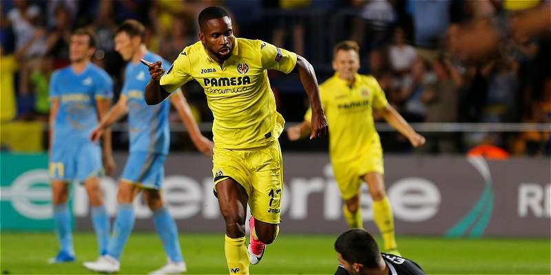 Sin Carlos Bacca, Villarreal derrotó 3-1 al Astana en Europa League