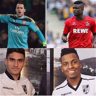 Ospina, Bacca, Córdoba y los tres de Vitória, jugarán la Europa League