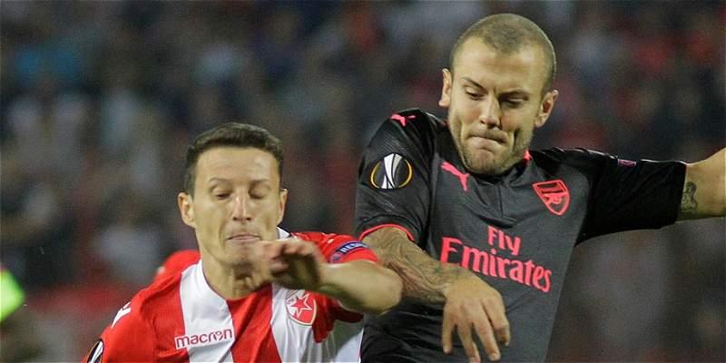 Estrella Roja vs Arsenal