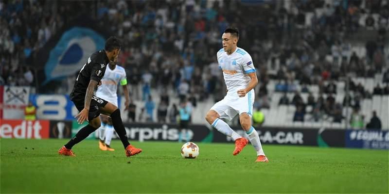 Marsella superó 2-1 al Guimaraes de Celis y S. Rincón,en Europa League