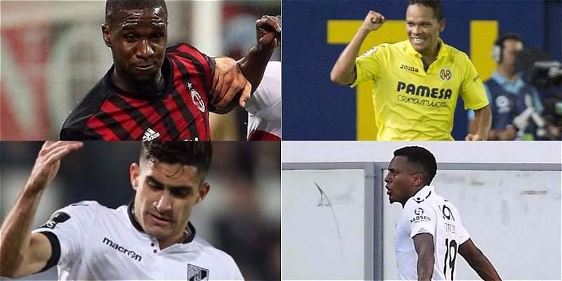 Colombianos en Europa League