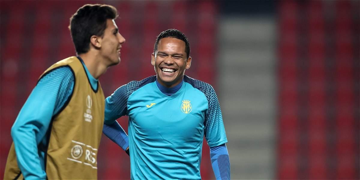 Bacca es titular con Villarreal;Cristian Zapata será suplente en Milan