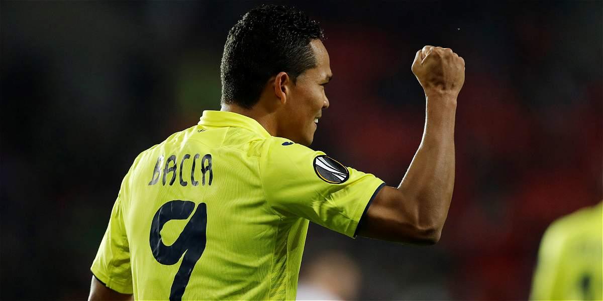 Bacca y un golazo en el triunfo 0-2 de Villarreal sobre Slavia Praga