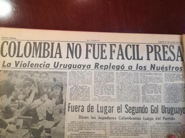 Colombia vs Uruguay 19621