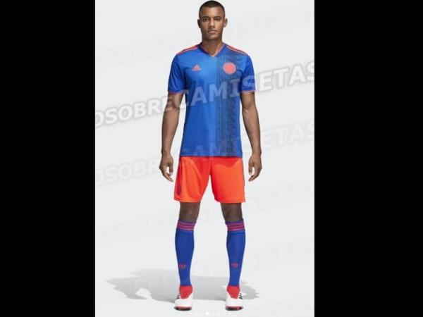 7e7786a0ef Así es el segundo uniforme de la Selección Colombia para Rusia 2018 ...
