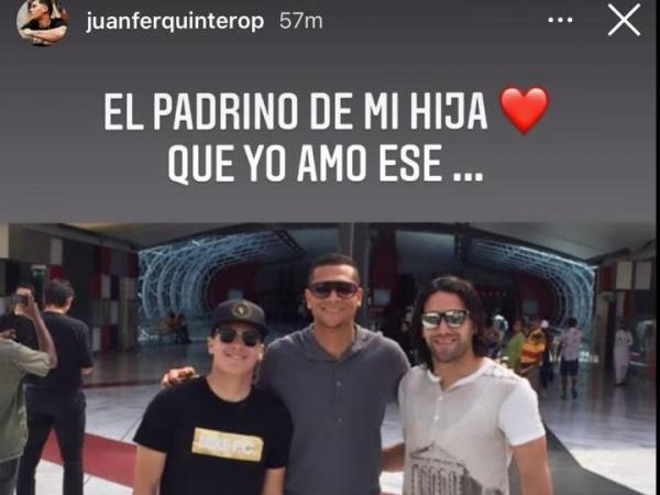 Mensaje de Quintero a Guarín
