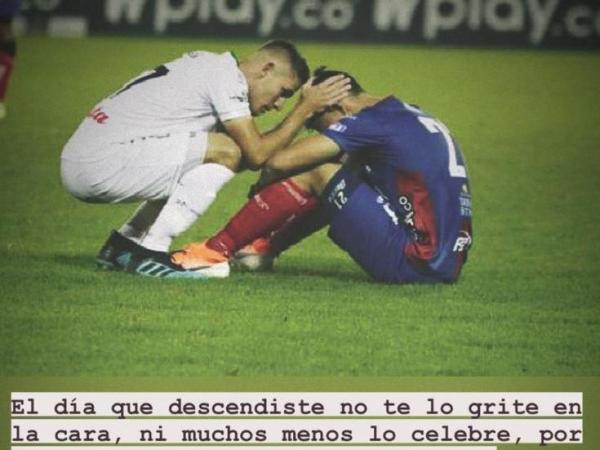 Mensaje Juan David Rodríguez