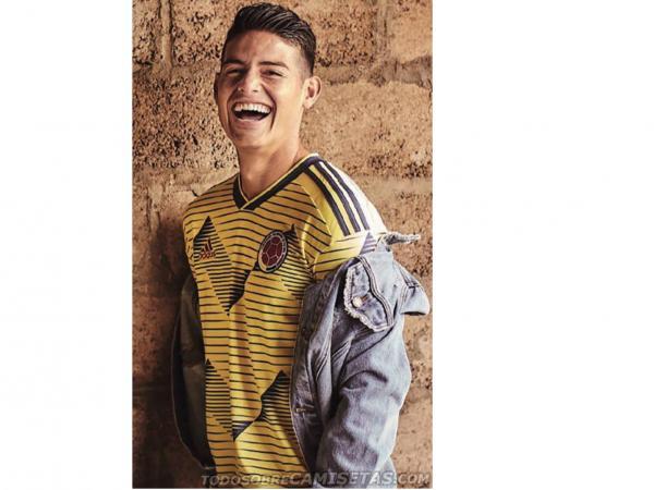 Así Es La Nueva Camiseta De La Selección Colombia Para