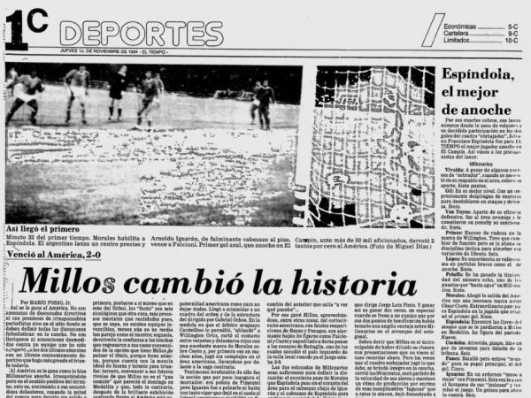 Identifican aficionado de Millonarios asesinado en TransMilenio