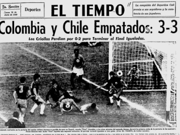 Colombia vs. Chile 1969