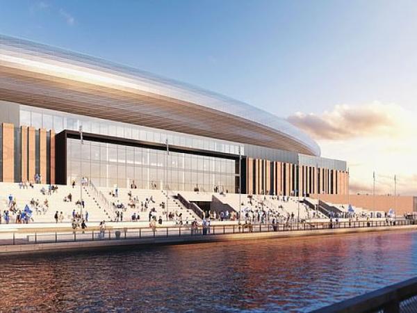 Nuevo estadio de Everton: Bramley-Moore Dock