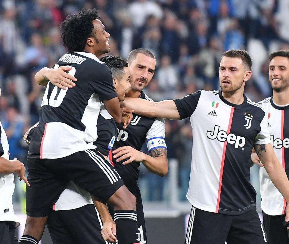 Victoria de Juventus vs Hellas Verona goles análisis y partido de Cuadrado Serie A | Serie A 2
