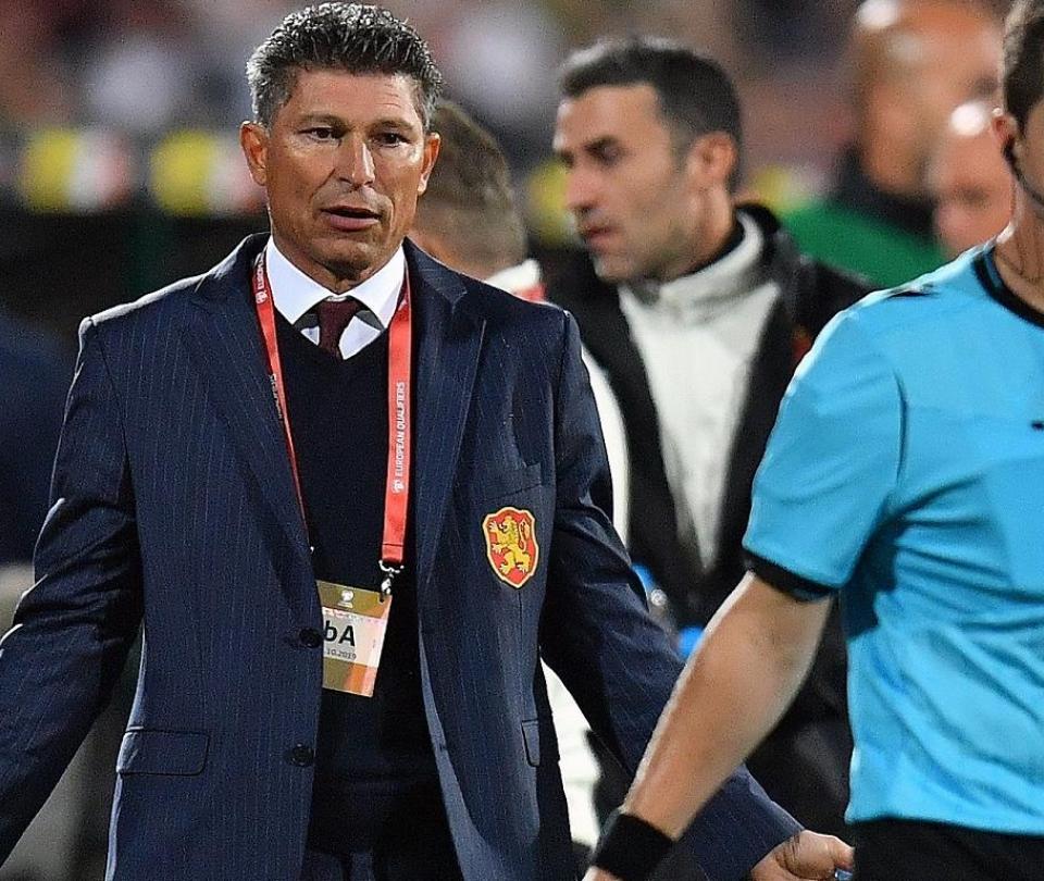 Renunció el técnico de Bulgaria Krasimir Balakov tras escándalo de racismo | Selecciones Nacionales 1