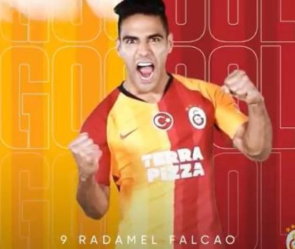 Falcao cierra el año como se debe: así fue su doblete con Galatasaray 1