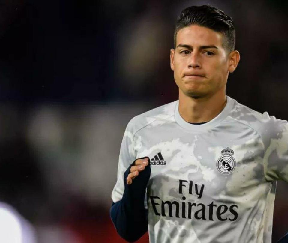 James Rodríguez hoy: no entrenó con Real Madrid en Valdebebas para apurar fichaje al Everton | Últimas noticias | Liga de España 1