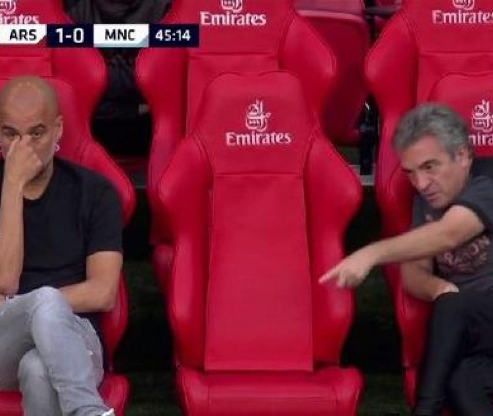 Las molestias en la charla de Juan Manuel Lillo con Pep Guardiola 2