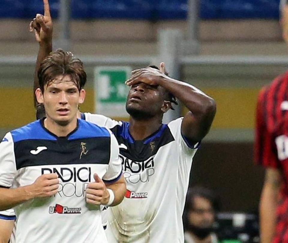 Atalanta vs Milan 1-1 gol Duván ZapataSerie A | Colombia hoy | Colombianos en el Exterior 1