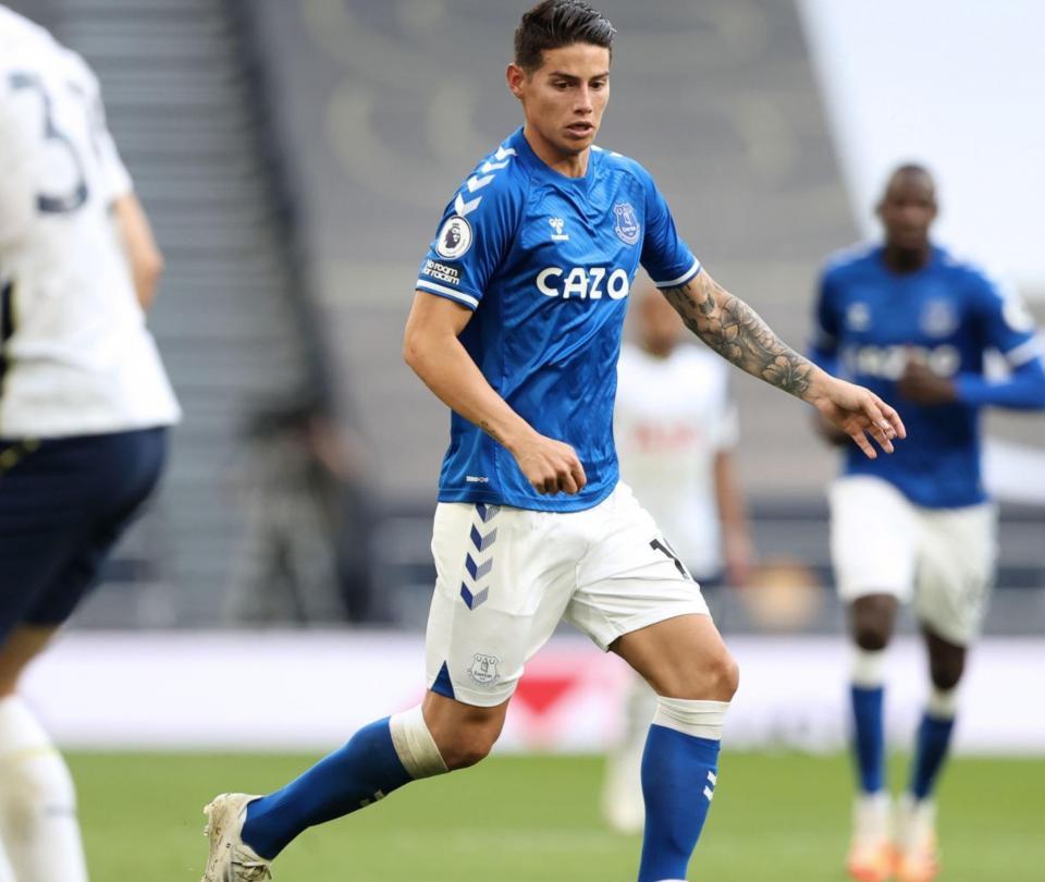 James Rodríguez noticias hoy: Ancelotti habla del estado físico del colombiano en Everton | Premier League 1