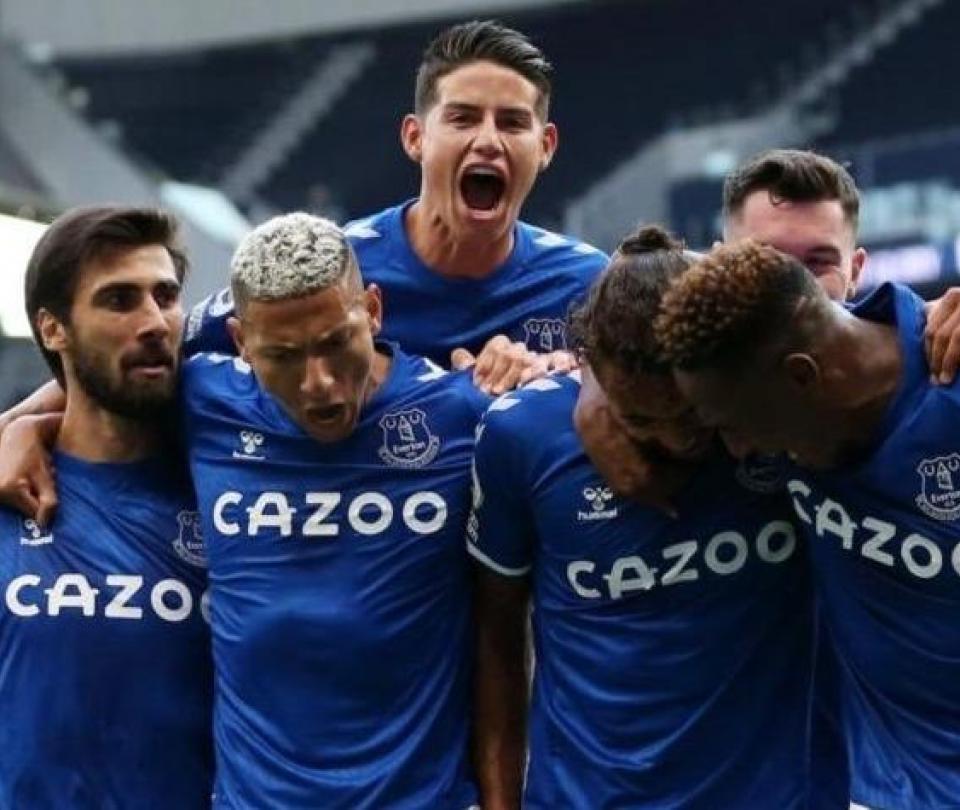 James Rodríguez está emocionado: el mensaje tras debutar con Everton 2