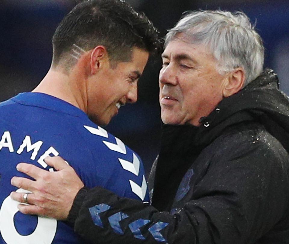 James en Everton: llega Burnley por Premier pero viene durísimo calendario, poderosos rivales cada tres días | Colombianos en el Exterior 1