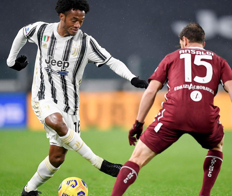 Juventus: Juan Guillermo Cuadrado figura y elogios gazzetta dello sport   Colombianos en el Exterior 1