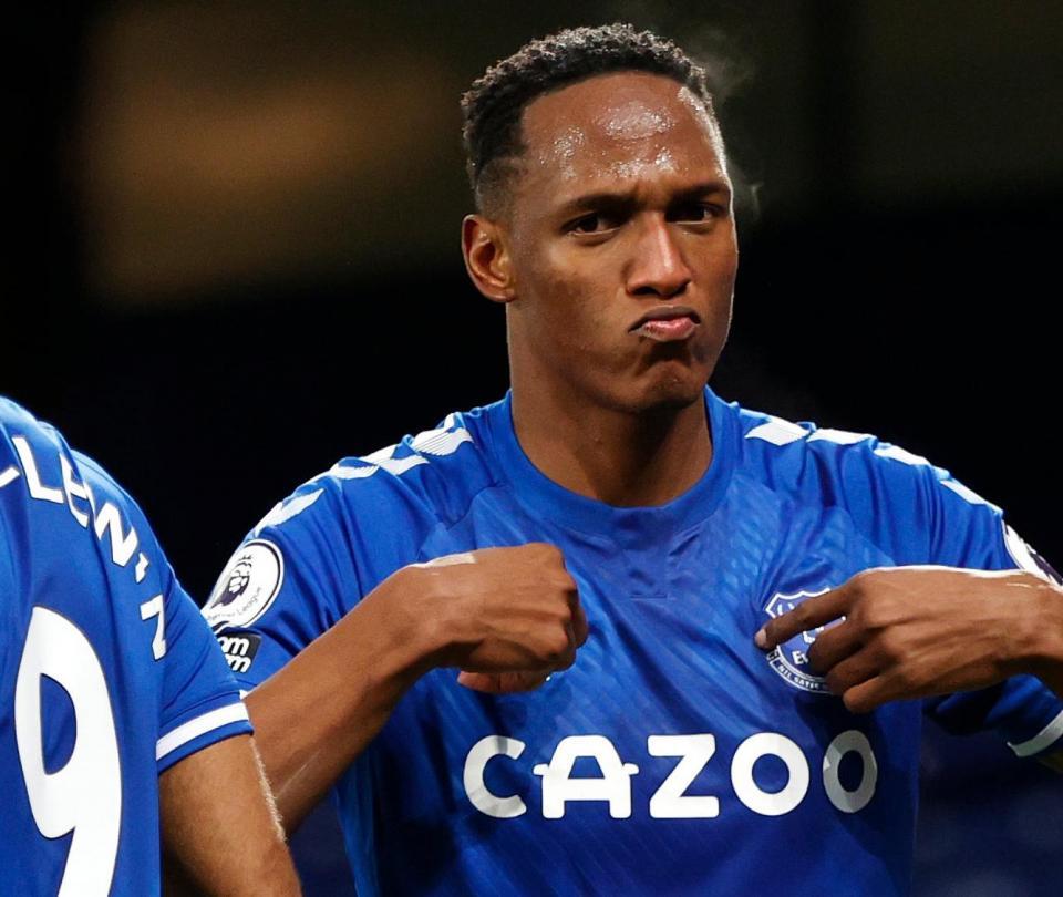 Yerry Mina es pretendido por equipos de la Serie A, altas y bajas de Everton temporada 2021-2022   Colombianos en el Exterior 1