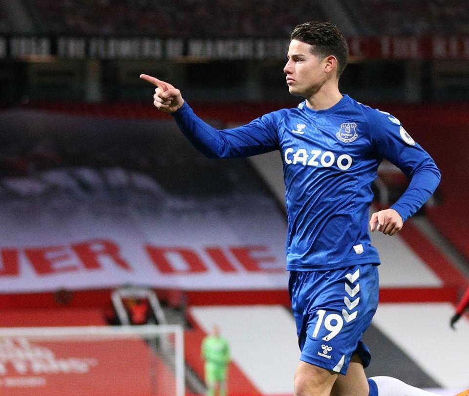 James Rodríguez: Everton dos partidos en los que no puede defraudar, Premier League | Premier League 1