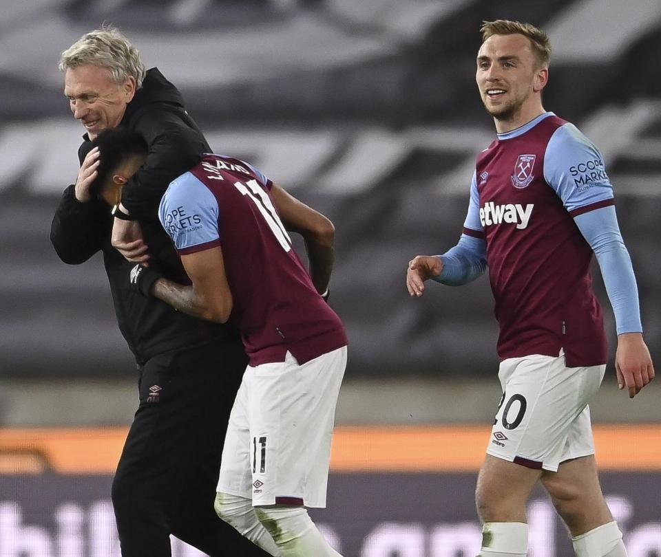 West Ham: victoria 3-2 contra Wolverhampton y cupo a Champions League | Premier League 1