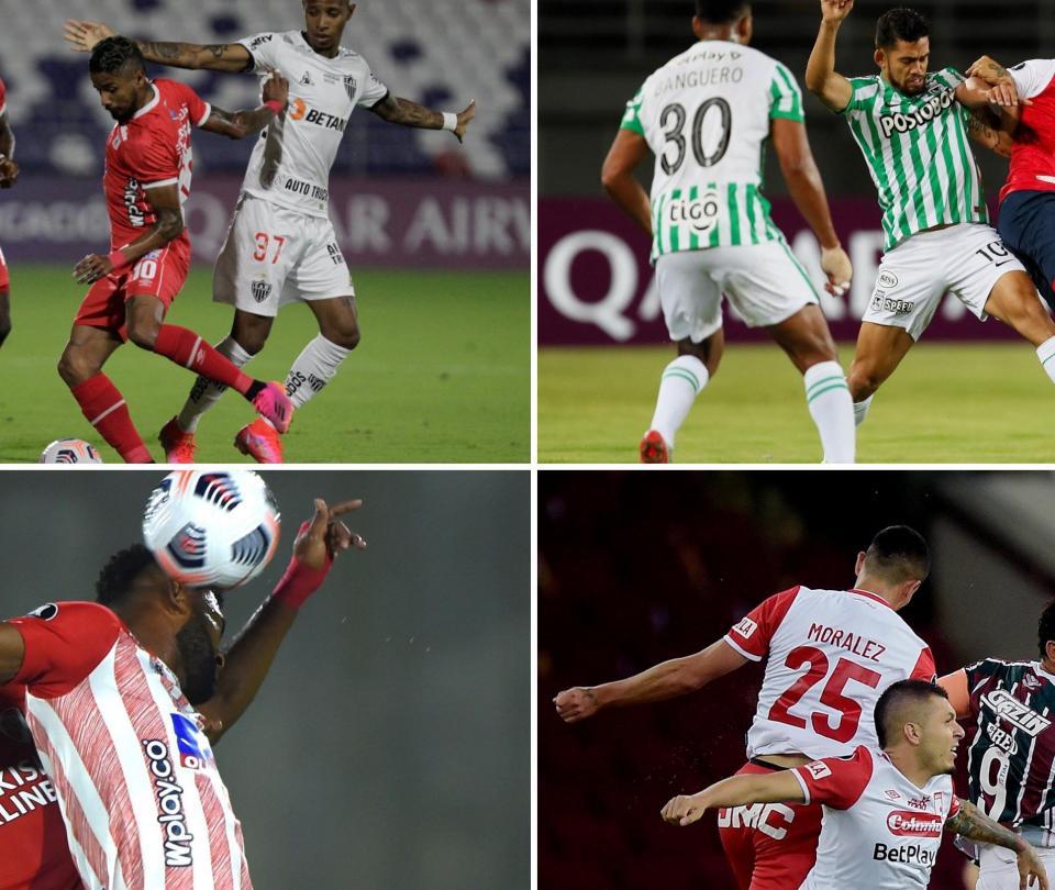 Copa Libertadores: resultados, posiciones y balance de colombianos en la cuarta jornada | Copa Libertadores 1
