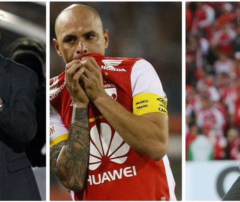 Santa Fe: nuevos detalles de la pelea Ómar Pérez y Gerardo Pelusso | Futbol Colombiano | Liga BetPlay 1