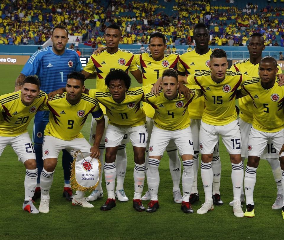 Selección Colombia formación