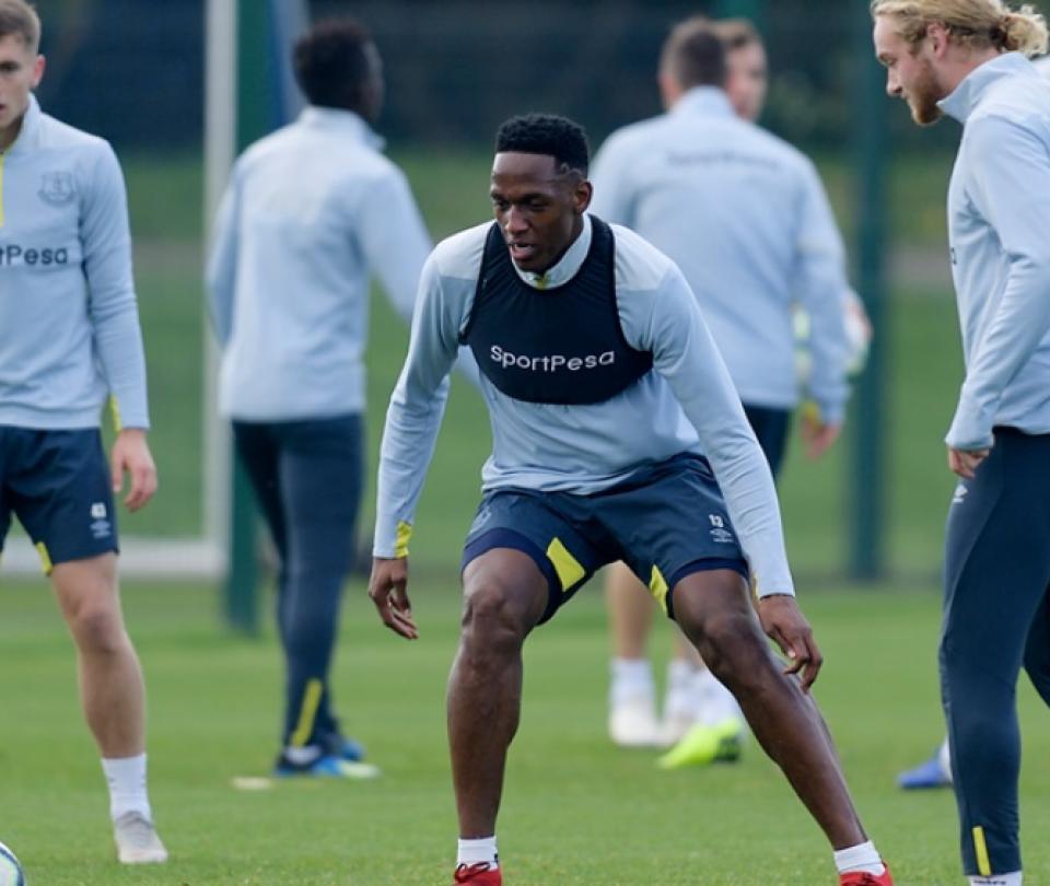 Volvió Mina en Everton y aún preocupa James: ¡ni siquiera entrenó! 1
