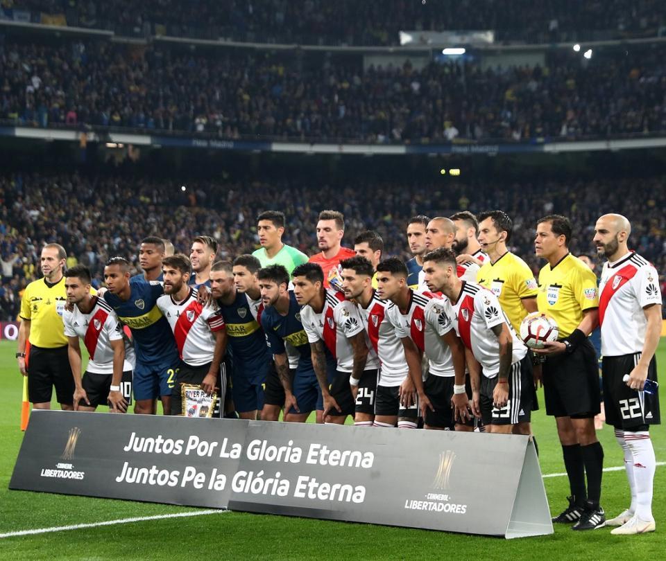 Inédito video que publicó Real Madrid sobre la final de Libertadores 2