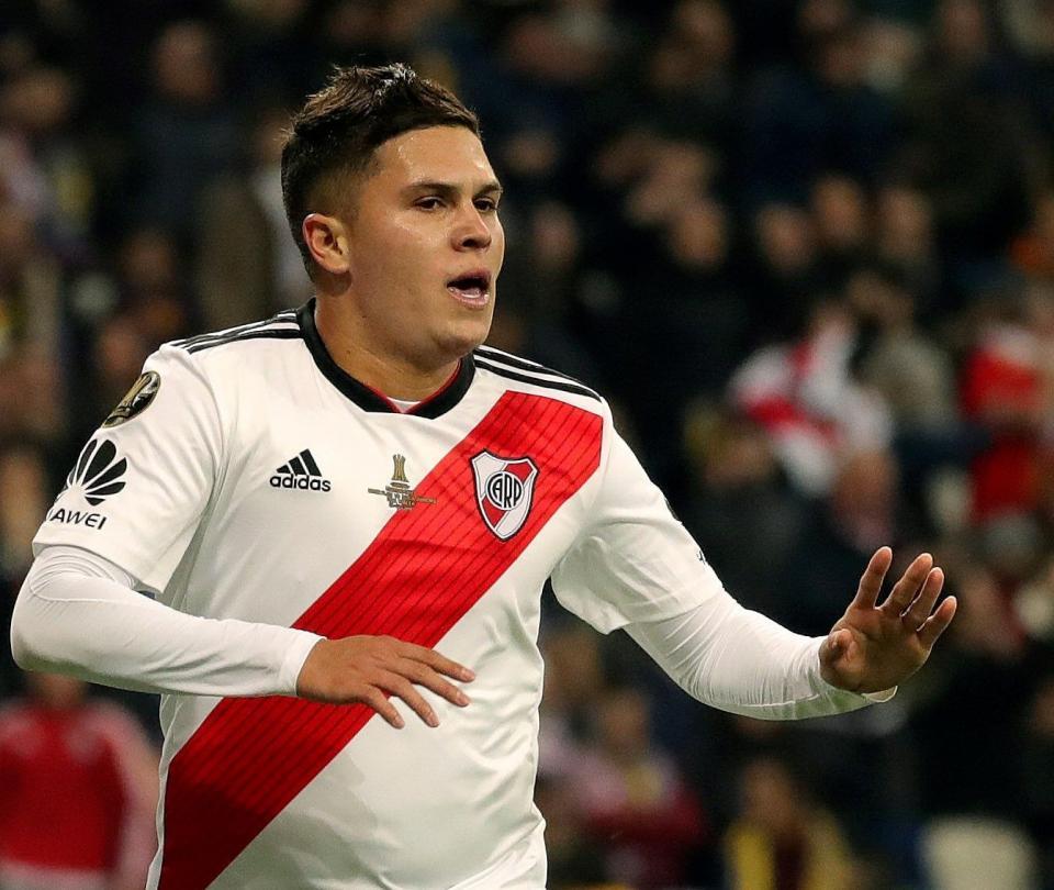 Conmebol recreó en Fifa el antológico gol de 'Juanfer' Quintero 1