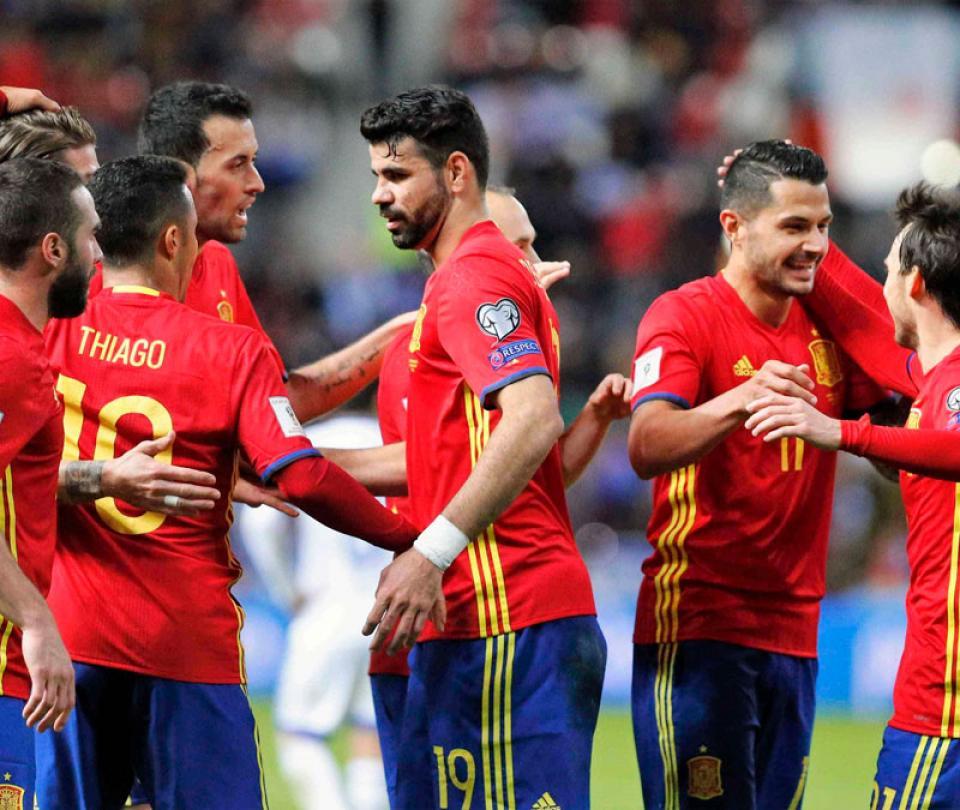 ¡Alerta en España! Delantero de Selección con rotura de ligamentos 1